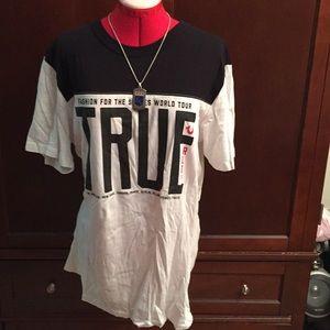 Designer True Religion Men's T-Shirt, Size XL